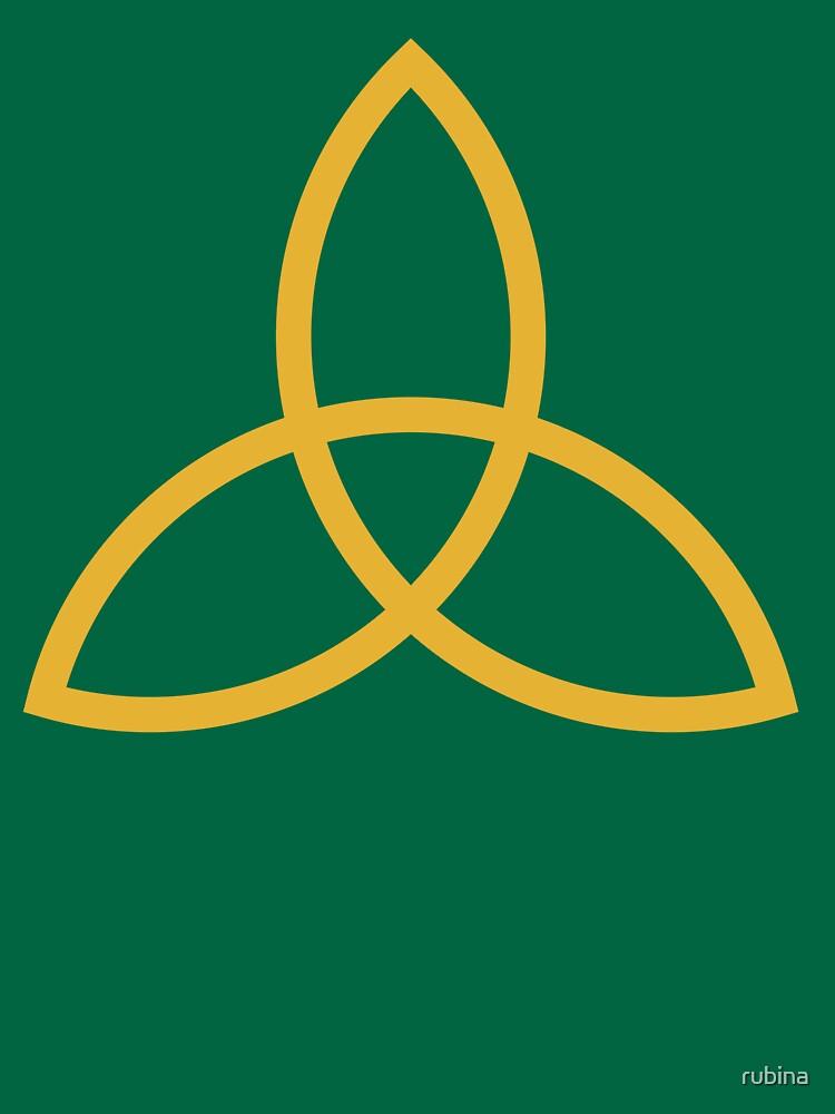 Celtic Knot Trinity Symbol Unisex T Shirt By Rubina Redbubble