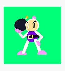 Bomberman Photographic Print