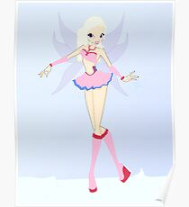 Ice Fairy Drawing - (Designs4You) Poster
