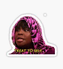 Treat Yo Self Sticker