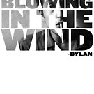 Bob Dylan Blowing in the wind by jackthewebber
