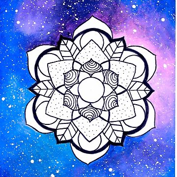 'Waking' Mandala by RubyBlue27