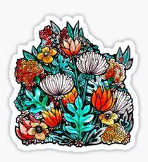 Spider Mum Garden Sticker