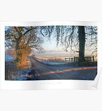 A Cotswold Lane Poster
