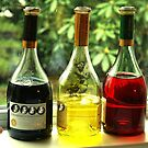 Drunken Bottles by Gilberte