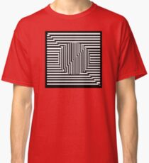 Line Optical Illusion Classic T-Shirt