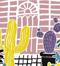Cacti & Succulent Greenhouse Sticker