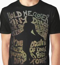 Tiny Dancer in Green Graphic T-Shirt