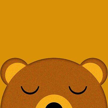 Napping pocket bear by jaxxx
