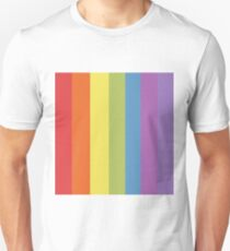 90s Aesthetic Rainbow  Unisex T-Shirt