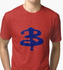 Buffy The Vampire Slayer 'B' v4.0 Tri-blend T-Shirt