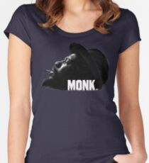 Thelonious Monk Women's Fitted Scoop T-Shirt