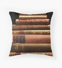 Rare antique books Throw Pillow