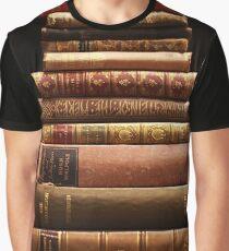 Seltene antike Bücher Grafik T-Shirt