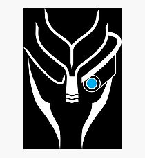 Mass Effect - Garrus (White) Photographic Print