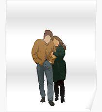 Minimalist Freewheelin' Bob Dylan Poster