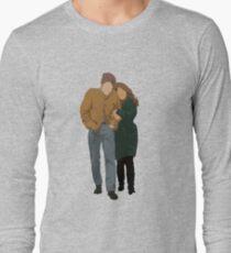 Minimalist Freewheelin' Bob Dylan Long Sleeve T-Shirt