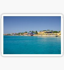 Kralendijk Waterfront, Bonaire Sticker