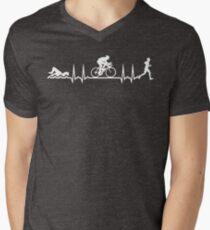 Triathlon Men's V-Neck T-Shirt