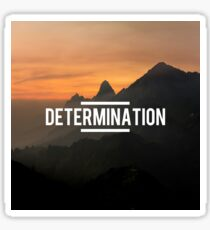 Determination Sticker