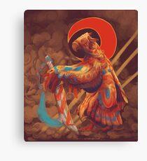 Sword Bird Canvas Print