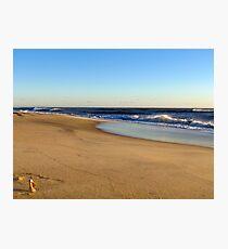 Cape Hatteras beach Photographic Print