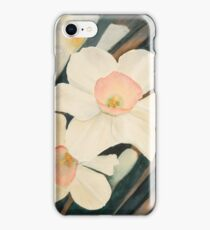 Narcissus Flowers Revealed iPhone Case/Skin