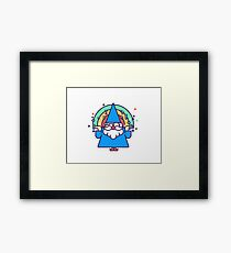 Rainbow Wizzard Framed Print