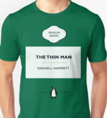 The Thin Man Book Cover tee Unisex T-Shirt