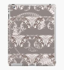 Nocturnal Animal Grey and white Feather pattern iPad Case/Skin