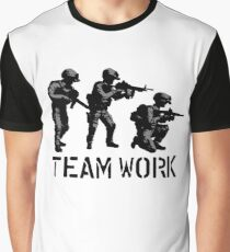 Teamwork by #fftw Graphic T-Shirt