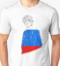 Russia and His Flag Unisex T-Shirt