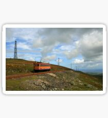 Snae Fell Mountain Railway Sticker