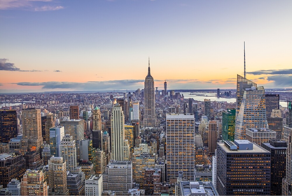 New York City by Johannes Valkama