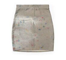 Stretched Cardigan Mini Skirt