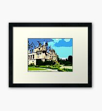 SUMMER AT BELFAST CASTLE Framed Print