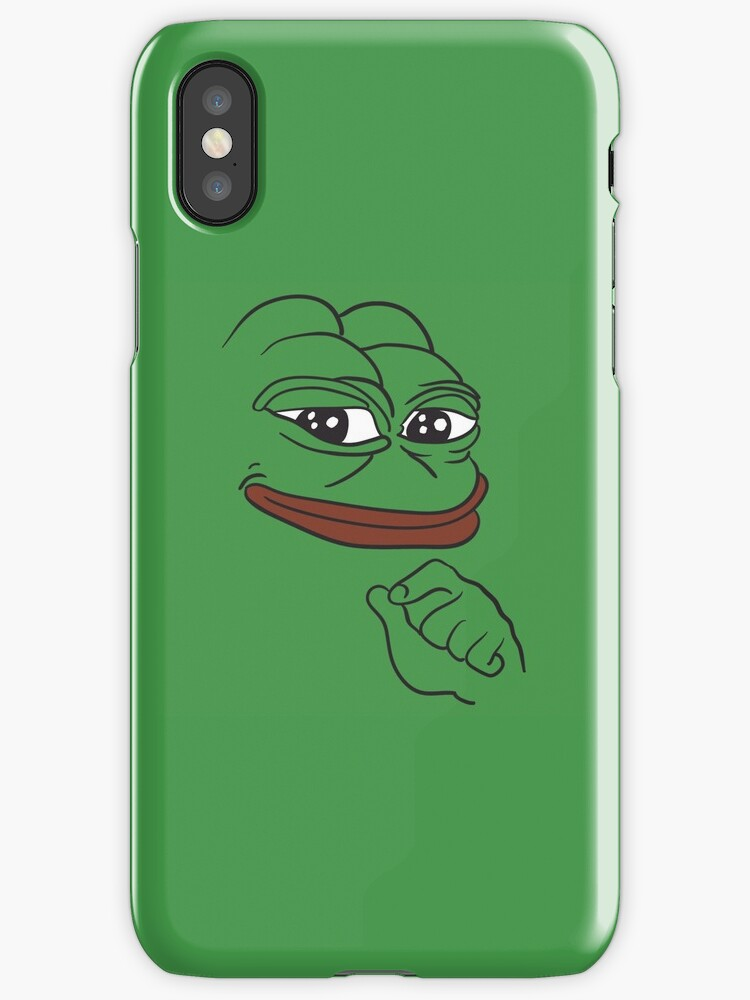 redbubble iphone cases quot pepe the frog quot iphone cases amp covers by rechargequality 12847