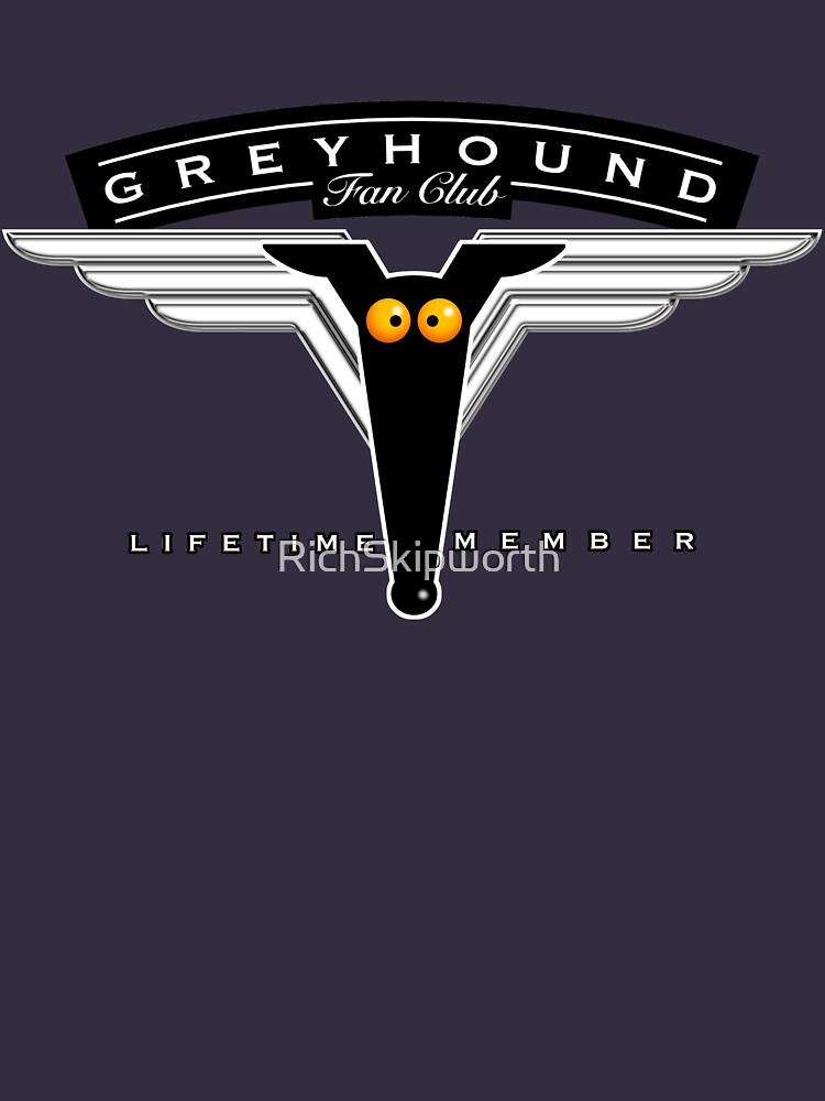 Greyhound Fan Club by RichSkipworth