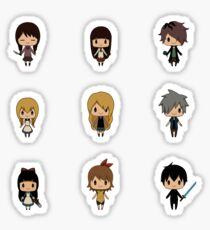Horror RPG Chibis [Ib, Mad Father, The Witch's House, etc.] Sticker