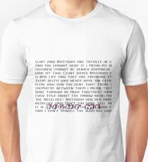 Fight Me Clintasha Unisex T-Shirt