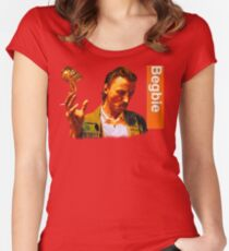 Begbie throws Glass of Beer - Scene from Trainspotting T-Shirt Women's Fitted Scoop T-Shirt