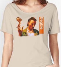 Begbie throws Glass of Beer - Scene from Trainspotting T-Shirt Women's Relaxed Fit T-Shirt