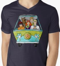 mystery gang Mens V-Neck T-Shirt