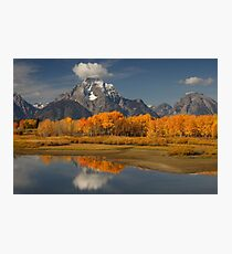 Fall in the Mountains Photographic Print