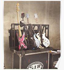 5SOS GUITARS Poster