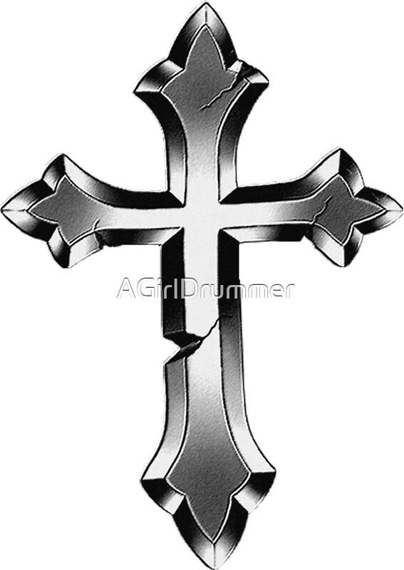 """Justin Bieber - Cross Tattoo"" Stickers by AGirlDrummer ..."