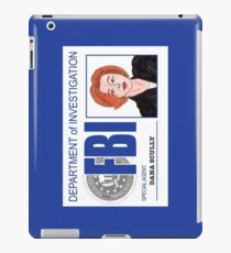 Agent Dana Scully iPad Case/Skin