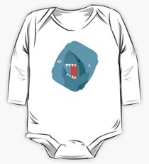 Vegetables Sharks One Piece - Long Sleeve