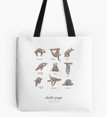 Sloth Yoga - The Definitive Guide Tote Bag