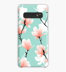 magnolia mint Case/Skin for Samsung Galaxy